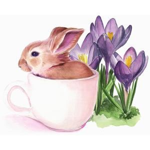 Bunny Crossing I by Jennifer Parker