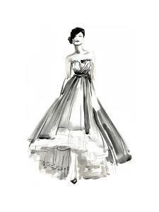 Gestural Evening Gown II by Jennifer Parker