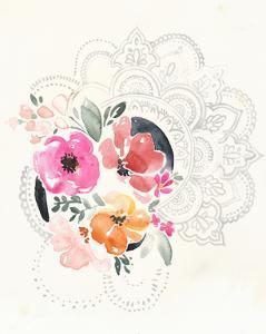 Mandala Bouquet I by Jennifer Parker