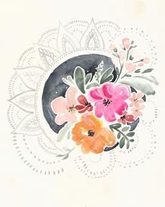 Mandala Bouquet II by Jennifer Parker