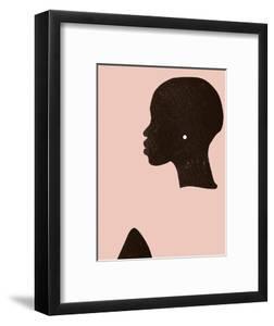 Pink Silhouette I by Jennifer Parker