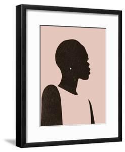 Pink Silhouette II by Jennifer Parker