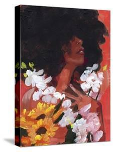 Through the Flowers II by Jennifer Parker