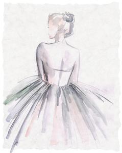 Watercolor Ballerina I by Jennifer Parker