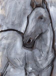 White Horse Contour II by Jennifer Parker