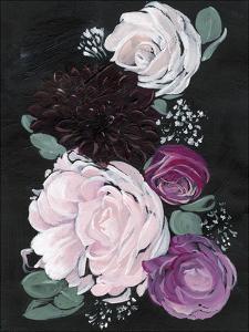 Dark & Dreamy Floral I by Jennifer Paxton Parker
