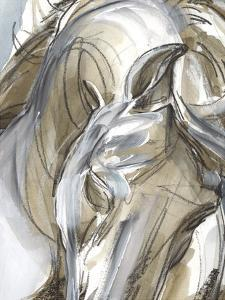 Horse Abstraction I by Jennifer Paxton Parker