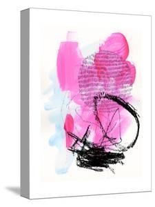 Neon Flamingos II by Jennifer Paxton Parker
