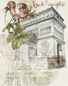 Paris Sketchbook II by Jennifer Paxton Parker
