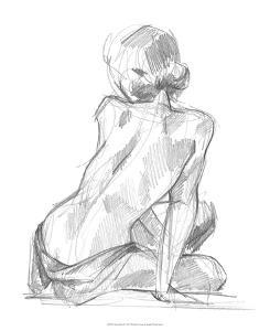 Sitting Pose II by Jennifer Paxton Parker