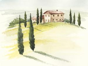 Tuscan Villa I by Jennifer Paxton Parker