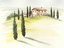 Watercolor Barn III-Jennifer Paxton Parker-Mounted Art Print