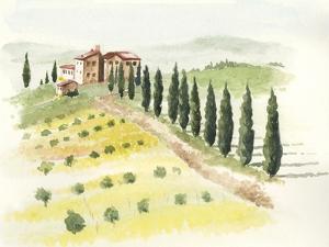 Tuscan Villa II by Jennifer Paxton Parker