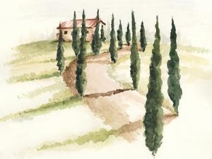 Tuscan Villa III by Jennifer Paxton Parker