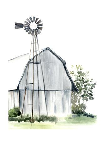 Watercolor Barn I by Jennifer Paxton Parker