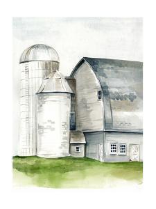Watercolor Barn II by Jennifer Paxton Parker