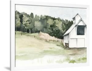Watercolor Barn III by Jennifer Paxton Parker