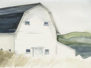 Watercolor Barn IV by Jennifer Paxton Parker