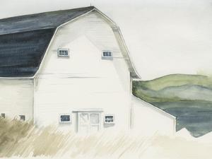 Watercolor Barn IV by Jennifer Paxton Parker
