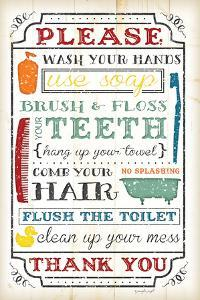 Bathroom Rules by Jennifer Pugh