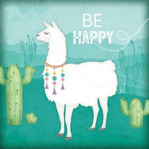Be Happy Llama by Jennifer Pugh