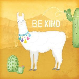 Be Kind Llama by Jennifer Pugh