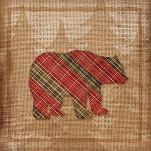 Bear Plaid by Jennifer Pugh