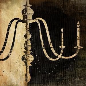 Black and White Chandelier II by Jennifer Pugh