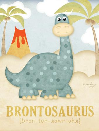 Brontosaurus by Jennifer Pugh