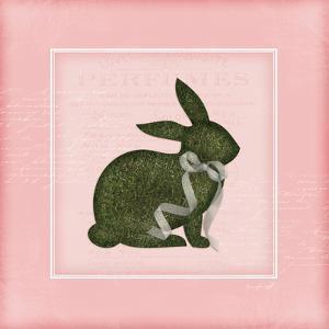 Bunny II - Pink by Jennifer Pugh