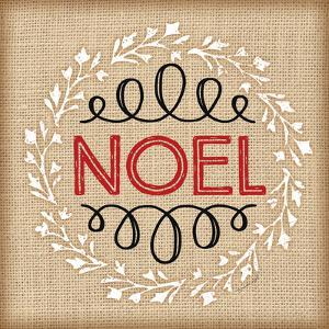 Burlap Noel by Jennifer Pugh