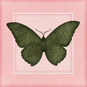 Butterfly II - Pink by Jennifer Pugh