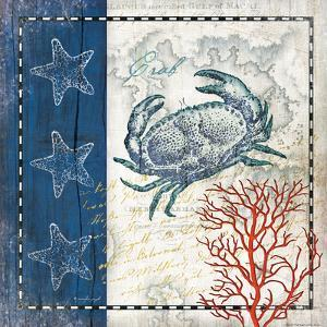 Coastal Blue Crab by Jennifer Pugh
