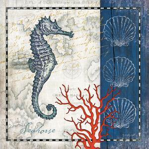 Coastal Blue Seahorse by Jennifer Pugh