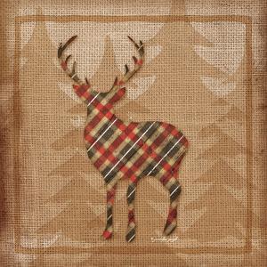 Deer Plaid by Jennifer Pugh