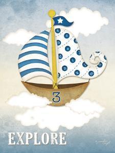 Dream Sailboat III by Jennifer Pugh