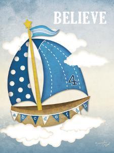 Dream Sailboat IV by Jennifer Pugh