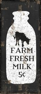 Farmhouse Milk Bottle by Jennifer Pugh