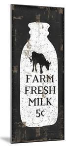 Farmhouse Milk Bottle by Jennifer Pugh