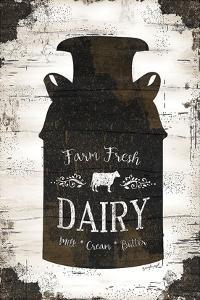 Farmhouse Milk Can by Jennifer Pugh