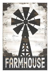 Farmhouse Windmill by Jennifer Pugh