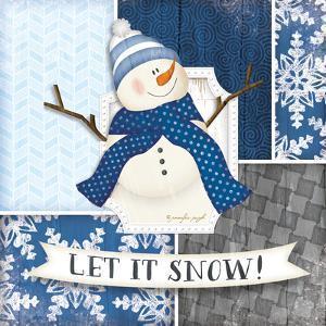 Let it Snow Snowman by Jennifer Pugh