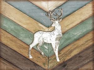 Lodge Deer by Jennifer Pugh