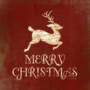 Merry Christmas Deer by Jennifer Pugh