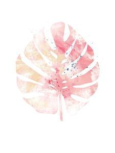 Pink Leaf II by Jennifer Pugh