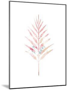Pink Leaf IV by Jennifer Pugh