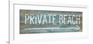 Private Beach by Jennifer Pugh