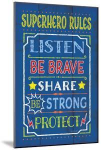 Superhero Rules by Jennifer Pugh