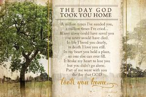 The Day God Took You Home by Jennifer Pugh