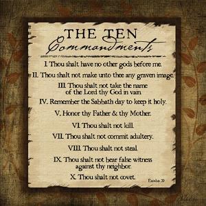 The Ten Commandments by Jennifer Pugh